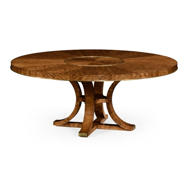Cosmo Hyedua Solid Wood Dining Table by Jonathan Charles Fine Furniture Jonathan Charles Fine Furniture