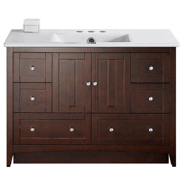 Riordan 48 Single Bathroom Vanity Set by Royal Purple Bath Kitchen