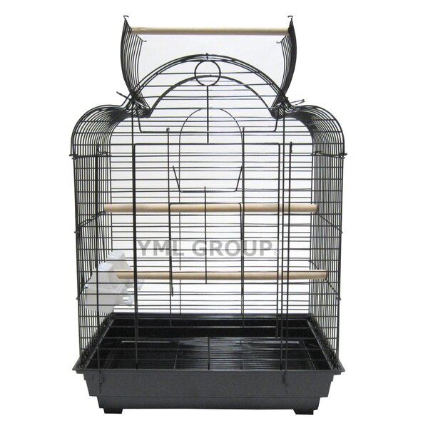 Open Scallop Play Top Bird Cage by YML