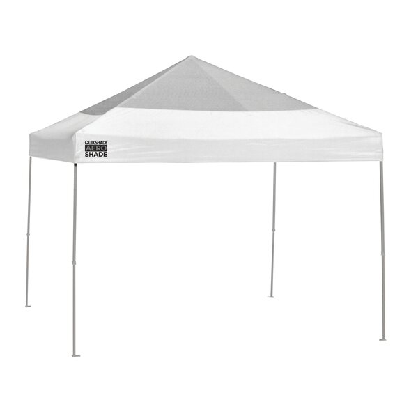 Quik Shade 10 Ft. W x 10 Ft. D Steel Pop-Up Canopy by QuikShade