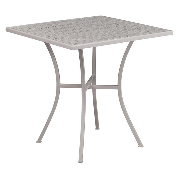 Siobhan Metal Dining Table by Ebern Designs
