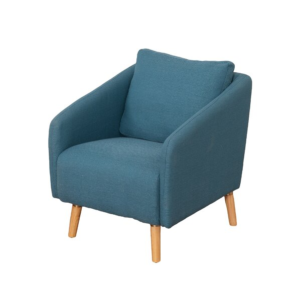 Jeremy Woven Fabric Armchair by George Oliver