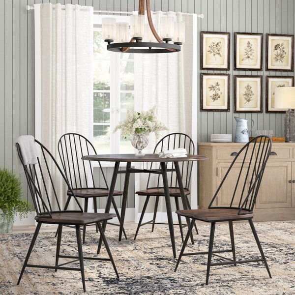 Hughley 5 Piece Dining Set by Laurel Foundry Modern Farmhouse