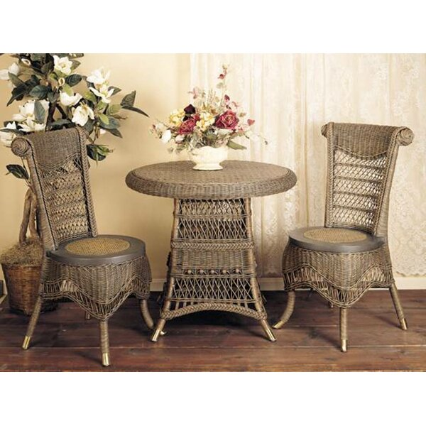 Classic 3 Piece Dining Set By Spice Islands Wicker
