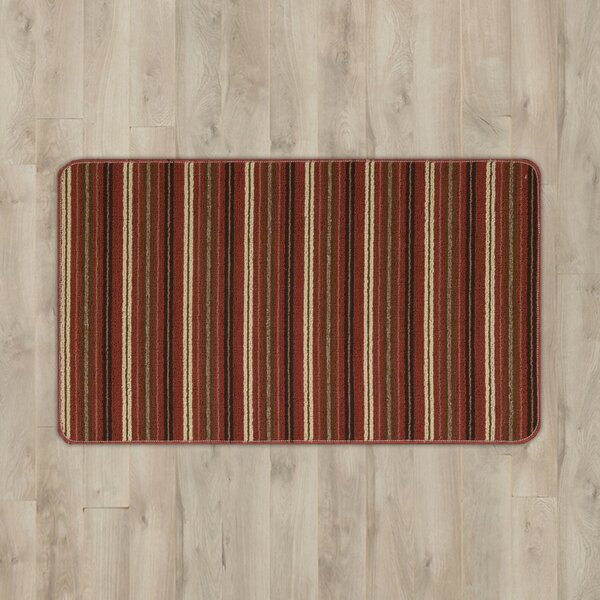 Ravens Rust Area Rug by Andover Mills