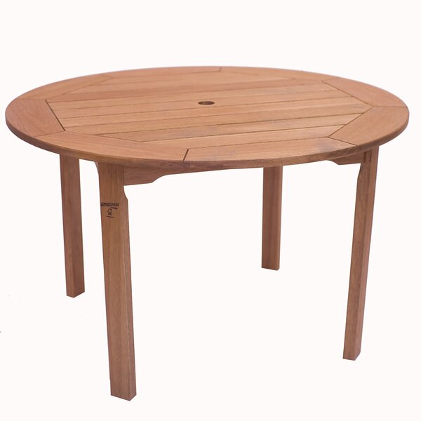 Bridgepointe Round Table by Rosecliff Heights