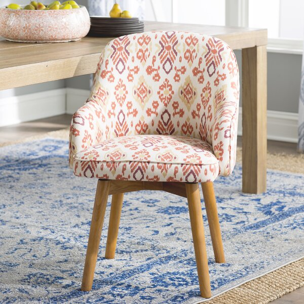 Laila Swivel Arm Chair by Mistana