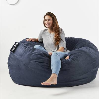 Prime Fuf Large Bean Bag Chair Gmtry Best Dining Table And Chair Ideas Images Gmtryco