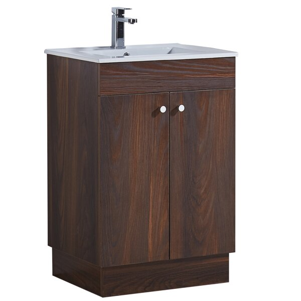 23.3 Single Bathroom Vanity Set by InFurniture