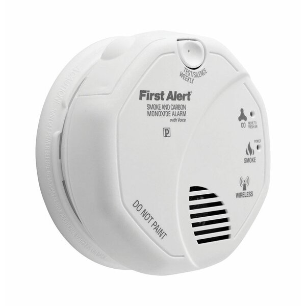 Battery Photoelectric Smoke and Carbon Monoxide Alarm by First Alert