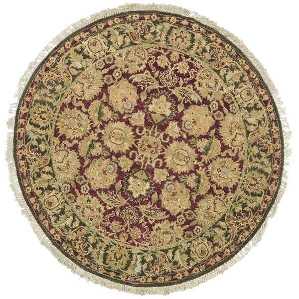 Belfield Agra Burgundy Area Rug by Astoria Grand