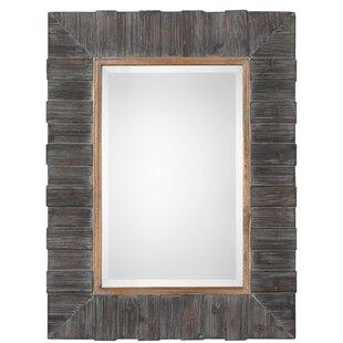 World Menagerie Stark Mancos Wood Accent Mirror