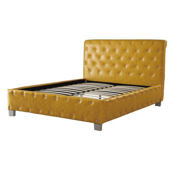 Desirae Upholstered Panel Bed by House of Hampton