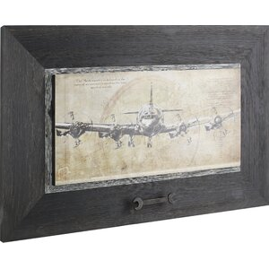 Plane I Framed Painting Print by Hobbitholeco.