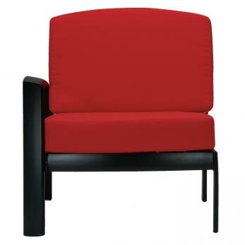 South Beach Right Side Module Chair with Cushion by Tropitone
