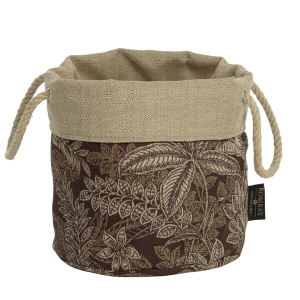 Palmetto Fabric Pot Planter by Bombay Outdoors