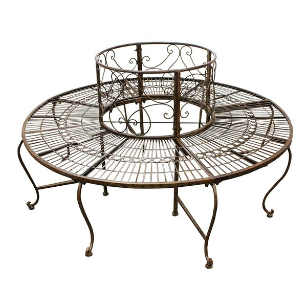 Surrounded Metal Tree Bench by ESSENTIAL DÉCOR & BEYOND, INC
