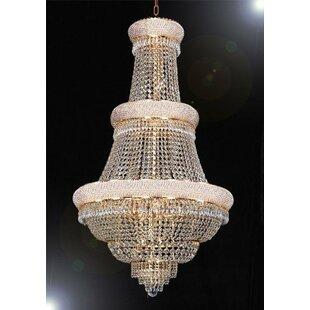 Best Price Montana 21-Light Chandelier By House of Hampton
