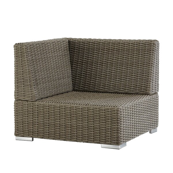 Rathdowney Wicker Outdoor Sectional Corner Chair by Darby Home Co