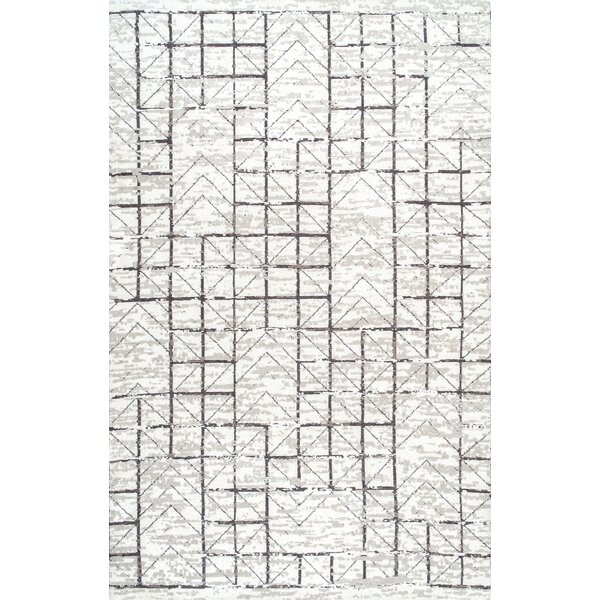 Boaz Gray Area Rug by Brayden Studio