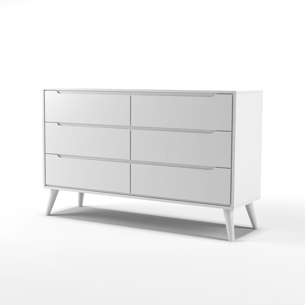 Staton 6 Drawer Double Dresser by Modern Rustic Interiors