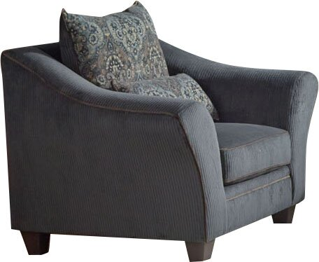 Roxborough 51-inch Armchair by Alcott Hill Alcott Hill