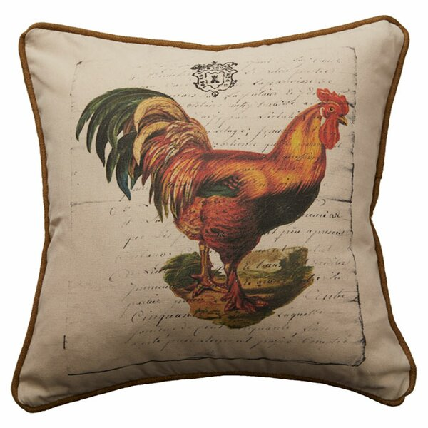 Jodie Linen Throw Pillow by Provence Home Collection