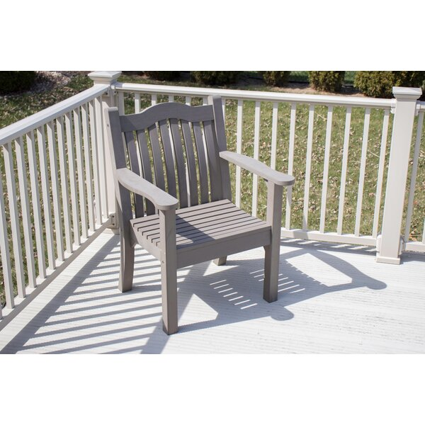 Hornsea Ironwood Modern Adirondack Chair by Highland Dunes