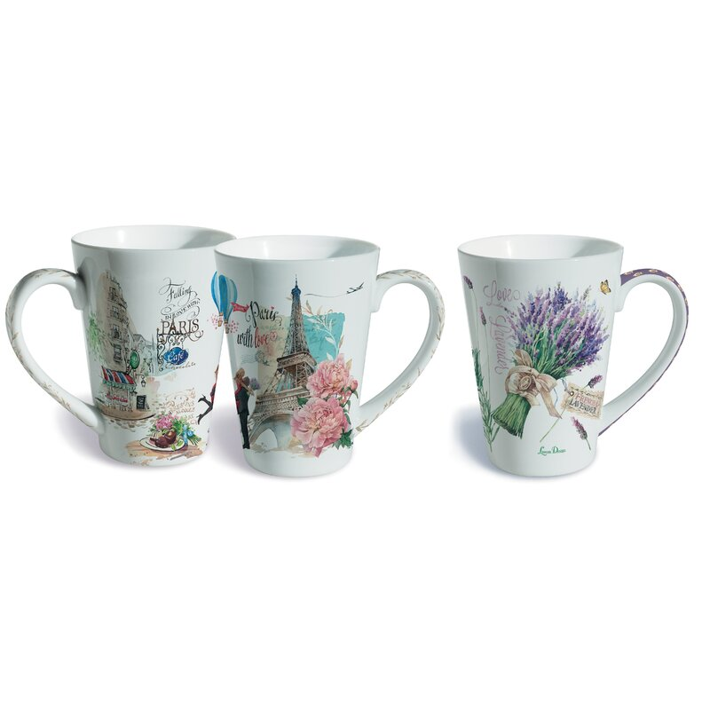 London Design Souvenir Tea Coffee Mug With Lid Boxed Perfect Gift Idea