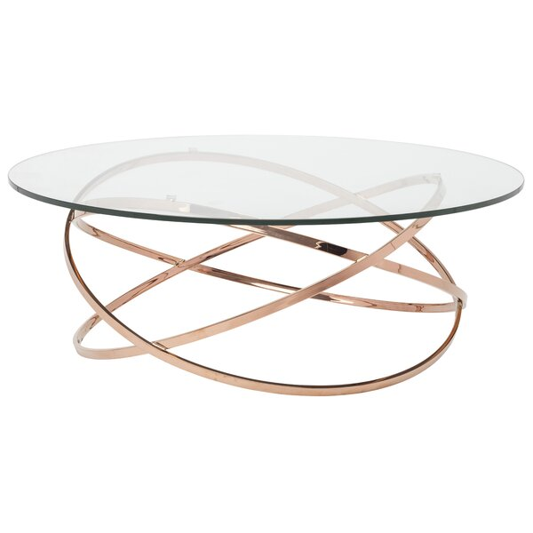 Corel Coffee Table by Nuevo