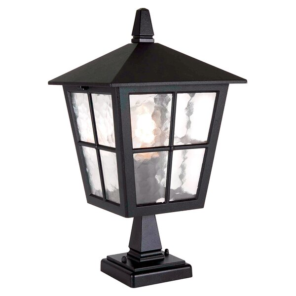 Poppe Pedestal Post Light by Charlton Home