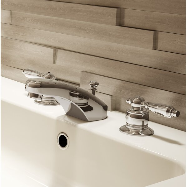 Symmetrix Widespread Bathroom Faucet with Drain Assembly by Symmons