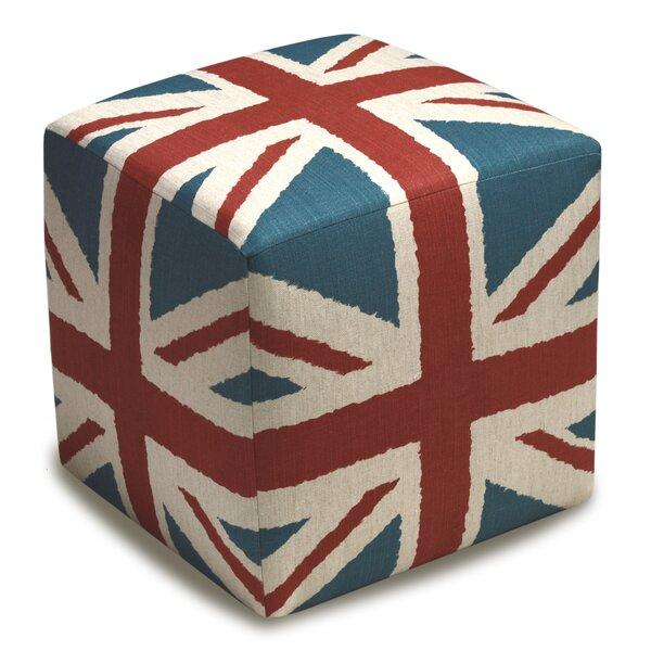 Britannia Cube Ottoman by 123 Creations