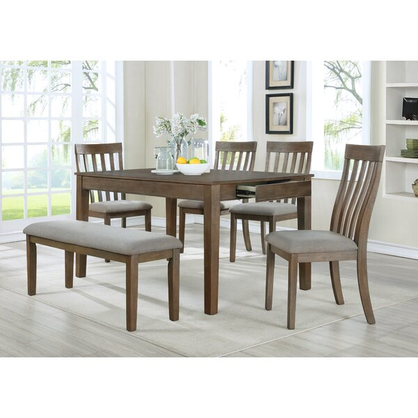 Gleason 6 Piece Dining Set by Rosalind Wheeler Rosalind Wheeler