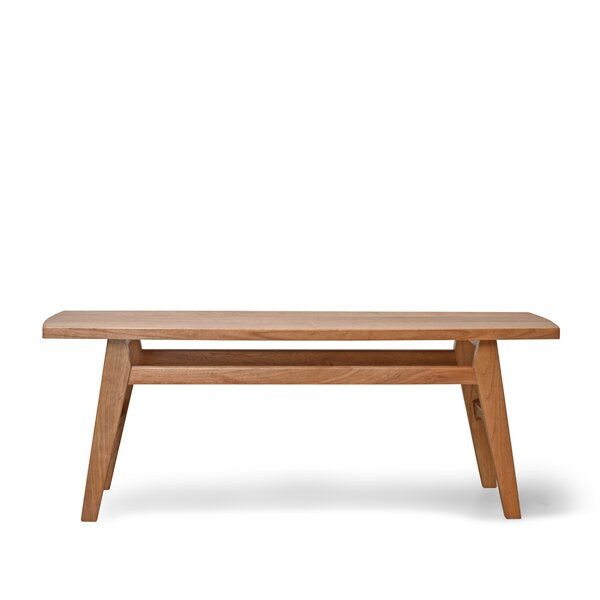 Barbury Wood Bench by Gracie Oaks