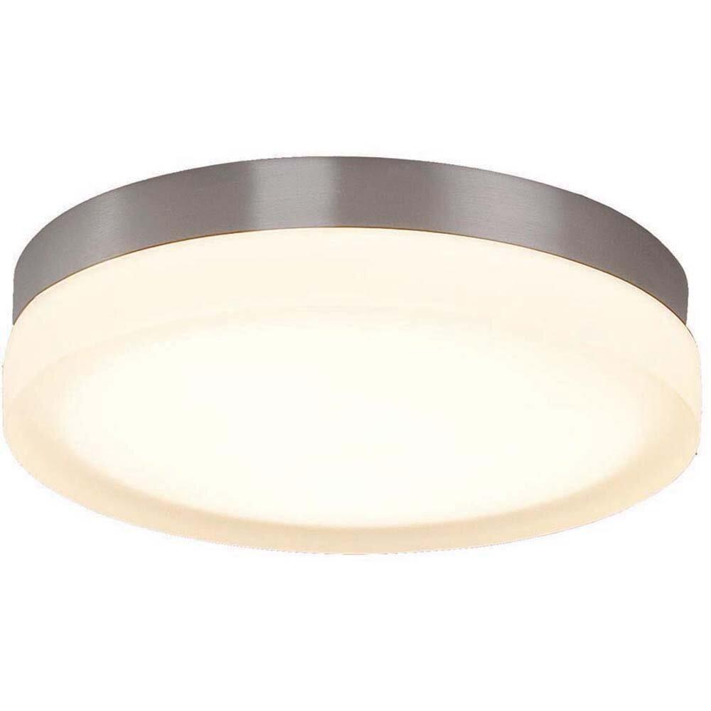 Hadiya 1 Light Simple Drum Led Flush Mount Reviews Allmodern