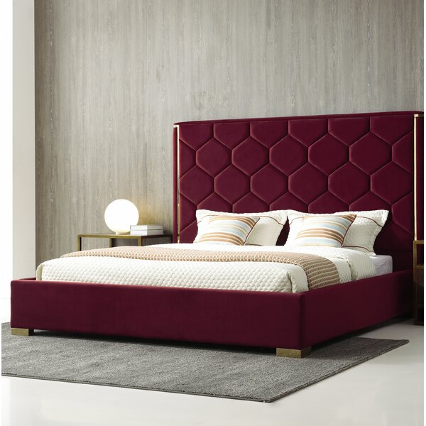 Brookhaven Upholstered Platform Bed by Everly Quinn