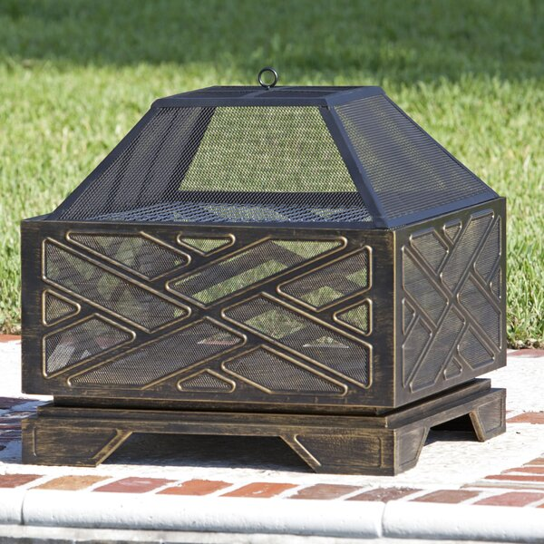 Catalano Steel Wood Burning Fire Pit by Fire Sense
