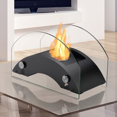 Harbor Ventless Bio-Ethanol Tabletop Fireplace By Ignis Products