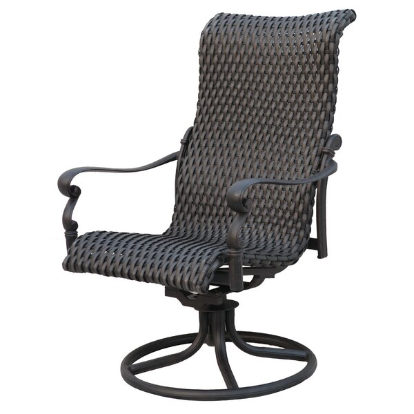 Kentland Swivel Patio Dining Chair By Darby Home Co