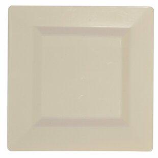 Square Premium Heavyweight Disposable Plastic Plate (Set of 50)  sc 1 st  Wayfair & Disposable Plastic Plates | Wayfair