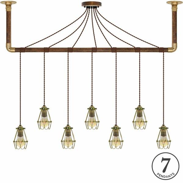 Odette 7-Light Kitchen Island Pendant by 17 Stories