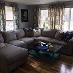 Birch Lane Newton Sofa With Chaise Amp Reviews Wayfair