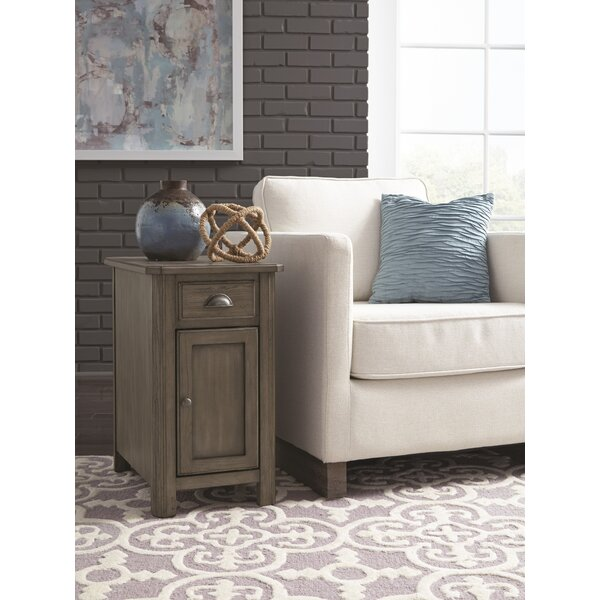Fernville End Table With Storage By Darby Home Co