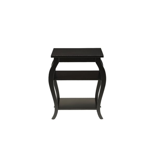 Pinank End Table by Charlton Home