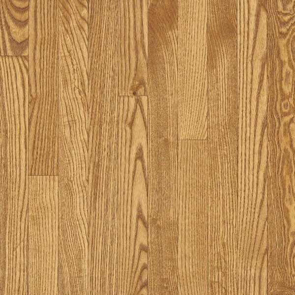 Dundee 2-1/4 Solid White Oak Hardwood Flooring in Seashell by Bruce Flooring