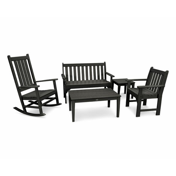 Vineyard 5 Piece Multiple Chairs Seating Group by POLYWOOD®