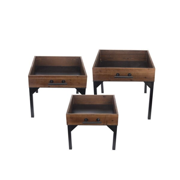 Nielsville 3 Piece Nesting Tables By Williston Forge