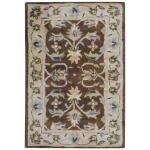 Hand Tufted Wool Brown/Beige Area Rug by Herat Oriental