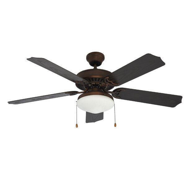 Searles 5-Blade Ceiling Fan by Three Posts